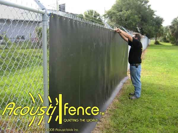Noise Reducing Acoustic Fence Home Inspiration Pinterest