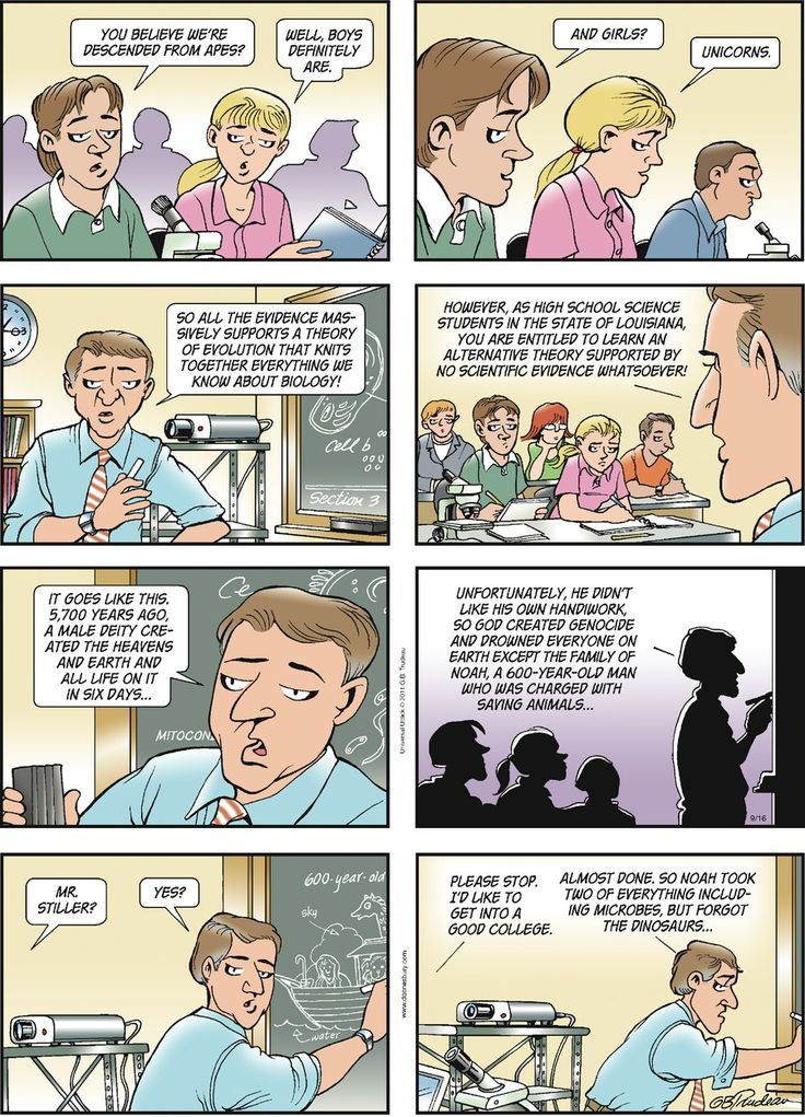 doonesbury and comic strip