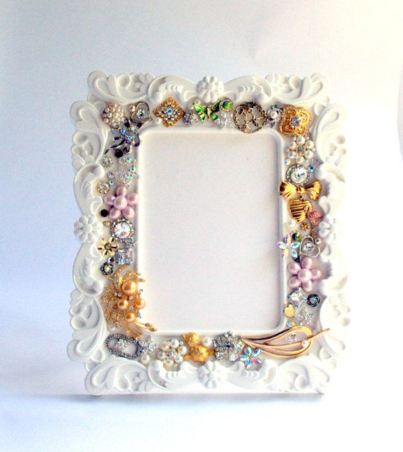 Unique Wedding Gifts Under USD50 : ... Unique Brooch Frame, Customized Picture Frame, Wedding Gift-READY TO