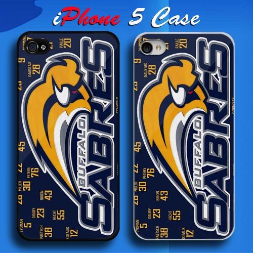 Buffalo Sabres NHL Ice Hockey Team Logo Custom iPhone 5 Case Cover