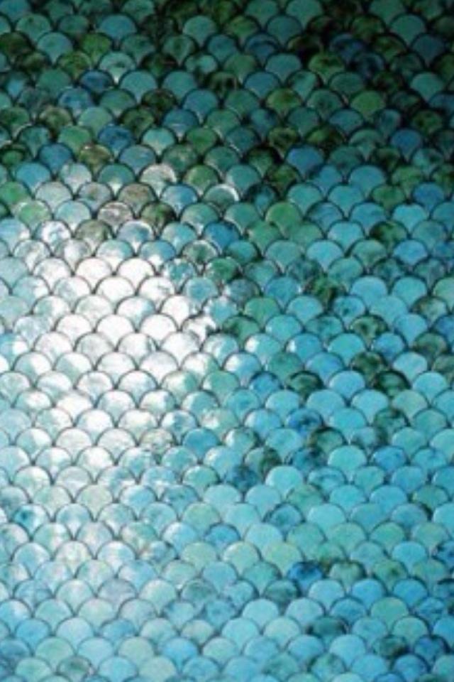 Mermaid tiles | Mermaidy Lady | Pinterest