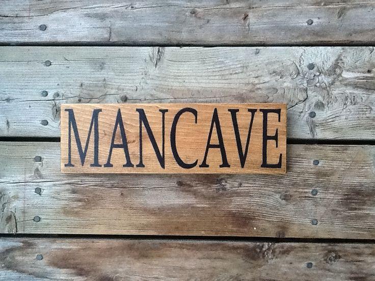 Ideas For Man Cave Signs : Mancave sign man cave ideas pinterest