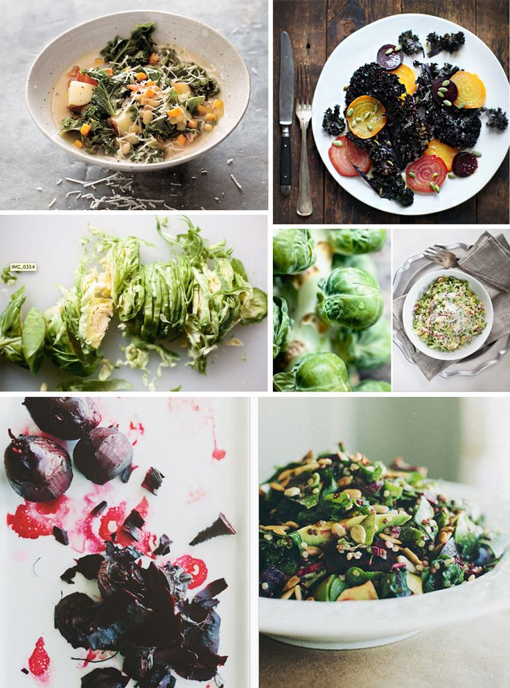 ... Brussels Sprout Salad with Red Onion and Pecorino from Not Without