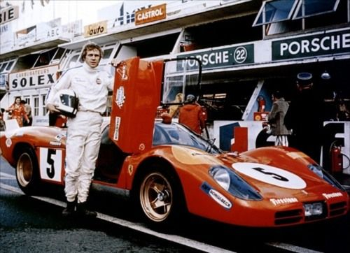 Steve McQueen : Le Mans : 1971 : Still Cooler Than You'll Ever Be.