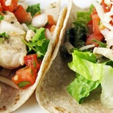 Lime Chicken Soft Tacos | TACO PARTY RECIPES | Pinterest