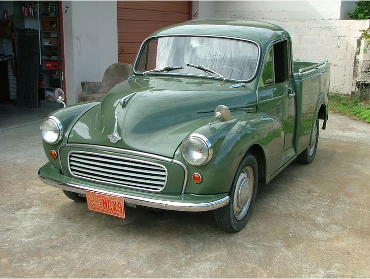 1960 morris minor pickup my dream car pinterest. Black Bedroom Furniture Sets. Home Design Ideas