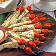Lemon-Rosemary Chicken Skewers | Recipe