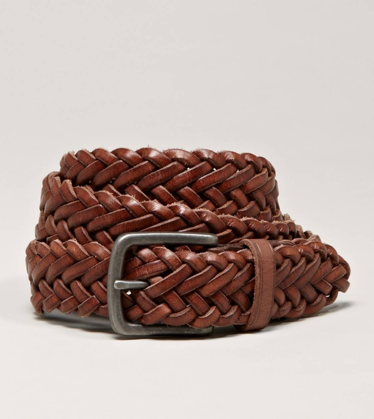 aeo braided leather belt mens s clothes