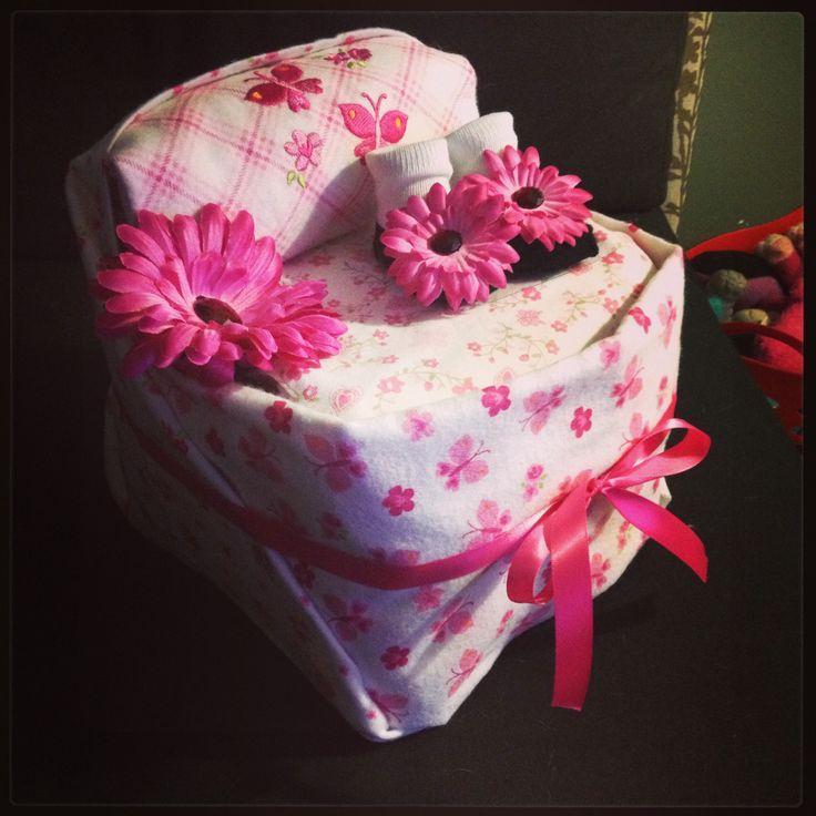 Baby Shower Gift Ideas On Pinterest : Diaper bassinet baby shower gift ideas