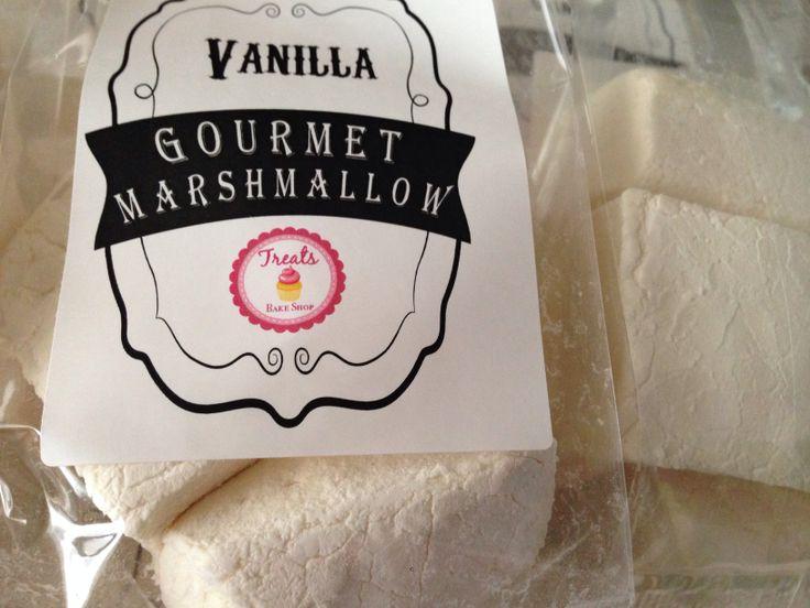Home Made Vanilla Marshmallows | Our Baked Treats | Pinterest