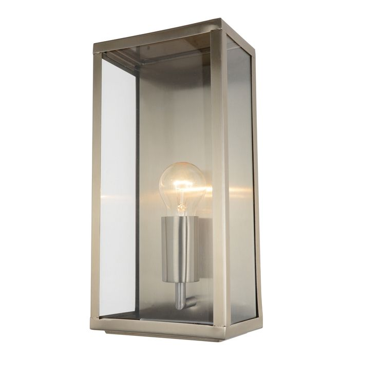 Outdoor lantern wall light stainless steel at 54 wall lights led bathroom for Stainless steel bathroom lights
