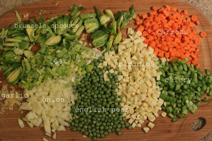 easy vegetable soup | delish. | Pinterest