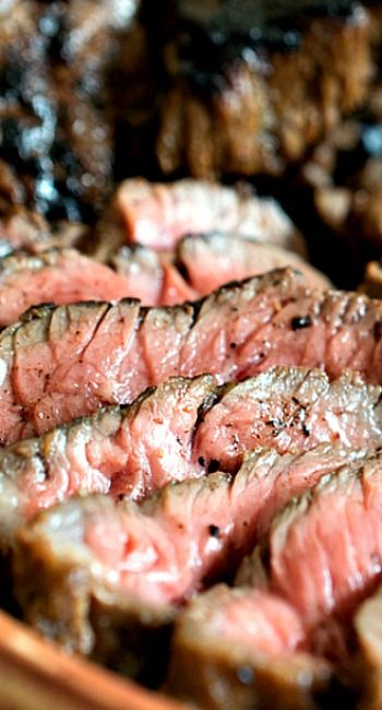 Everyday Steak Tips Recipe ~  a delicious marinade that adds fantastic flavor to grilled or broiled sirloin beef tips!   The tips come out tender and delicious with a slightly tangy, slightly sweet flavor that is our idea of the perfect steak tips recipe!
