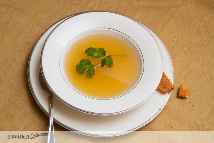 Homemade Broth - Chicken, beef or vegetable | With A Spin