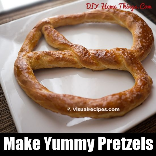 How To Make Pretzels | Drinks And Recipes | Pinterest