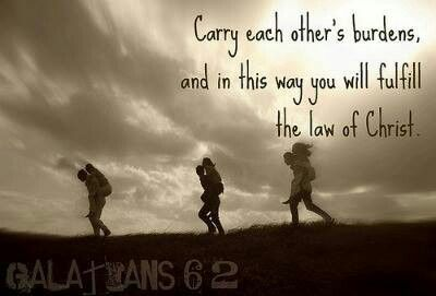 Image result for Galatians 6:2