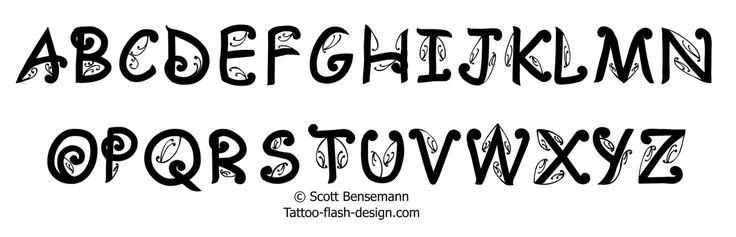 Different Font Styles Alphabet | Free Maori Tattoo Font Maori tattoo ...