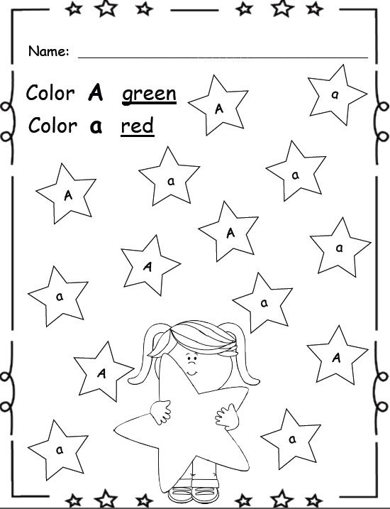 Letter Recognition Worksheets For Kindergarten – Kindergarten Letter Recognition Worksheets