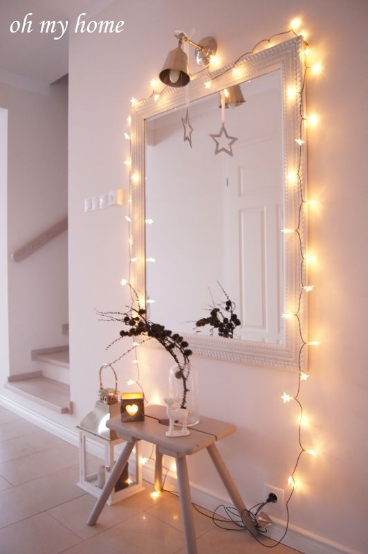 Espejo con luz decoraci n pinterest for Espejo tocador con luces