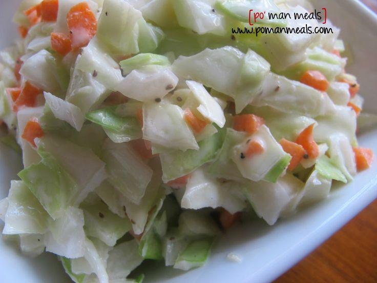Creamy homemade coleslaw | Recipe