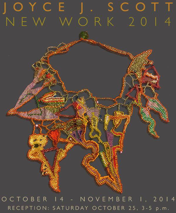 Joyce J. Scott - Mobilia Gallery (USA)  - 14 Oct-1er Nov. 2014 - http://mobilia-gallery.com/emailnews/201410_JoyceScott.html