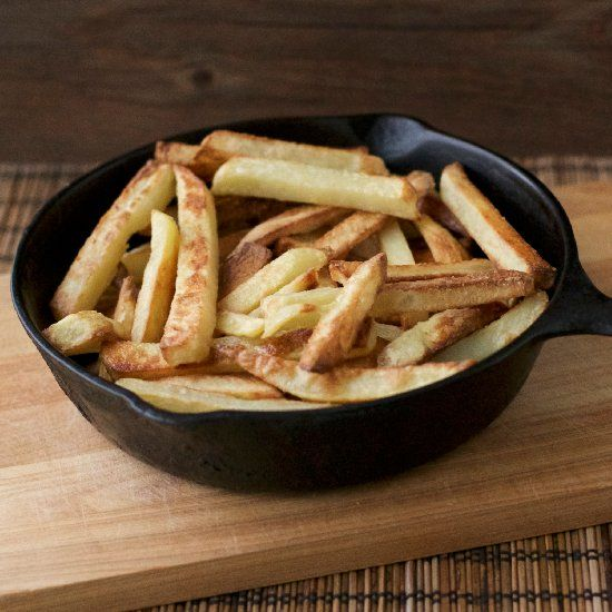 ... in this for crispy oven baked french fries. (in Spanish and English