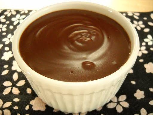 Chocolate pudding! Consider using 2x the chocolate. Sub cornstarch ...