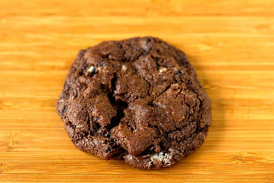 Triple Chocolate Oreo Chunk Cookies. These have good flavor, but are ...