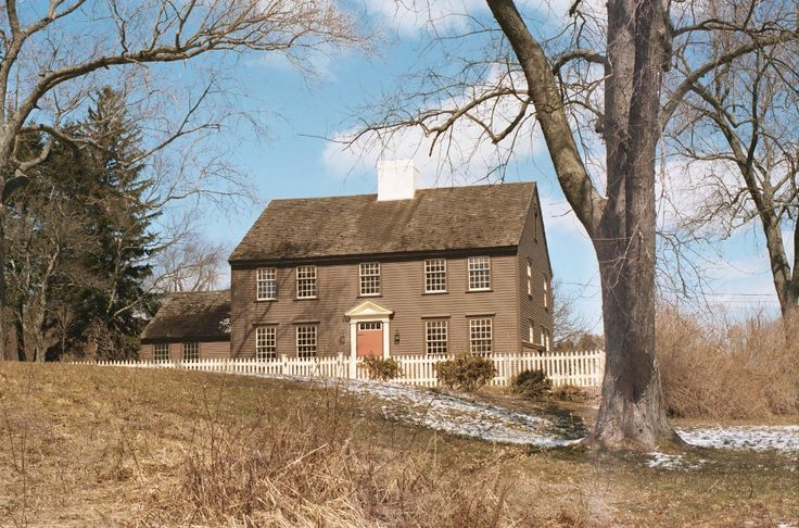 Old New England Country Home Great House Pinterest