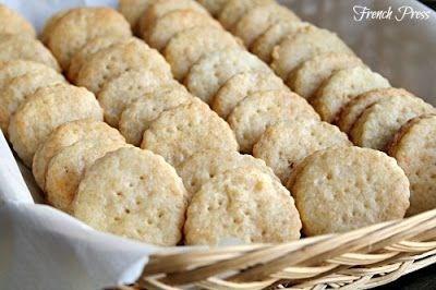 Homemade Ritz Crackers - Heather's French Press