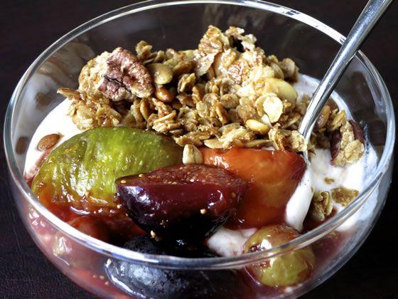 Roasted Fruit with Pomegranate Molasses | Recipe