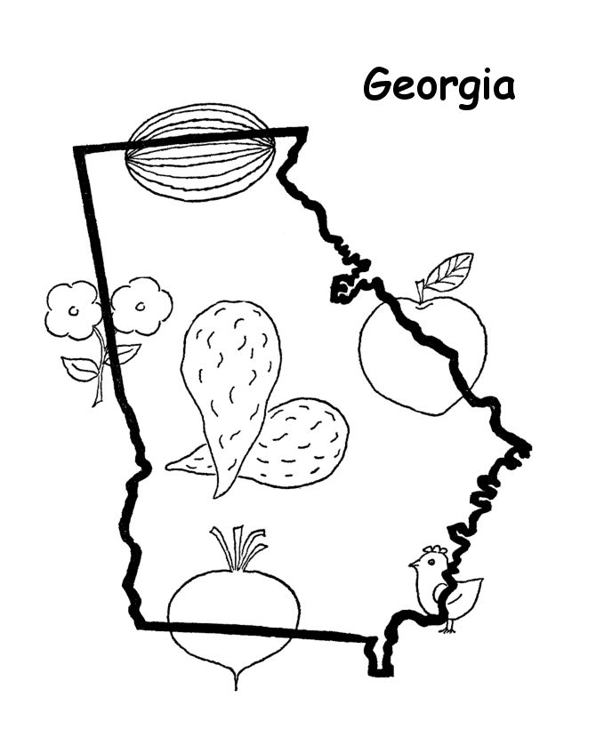 It's just an image of Sweet Georgia Bulldog Coloring Pages