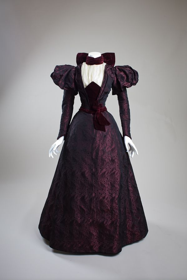 Dress, 1890's United States (California), San Diego History Center