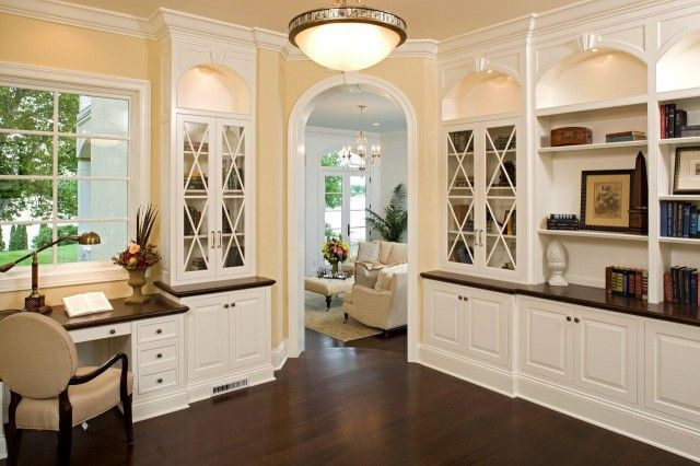 Office Built Ins For The Home Pinterest