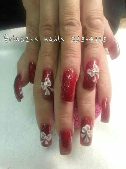 Princess Nails in Albuquerque | I heart makeup! | Pinterest