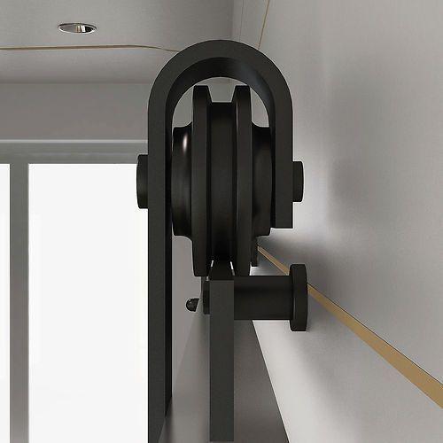Sliding barn door hardware diy home renovation ideas for Diy barn door hardware