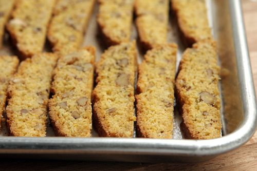Cornmeal Biscotti Recipe — Dishmaps