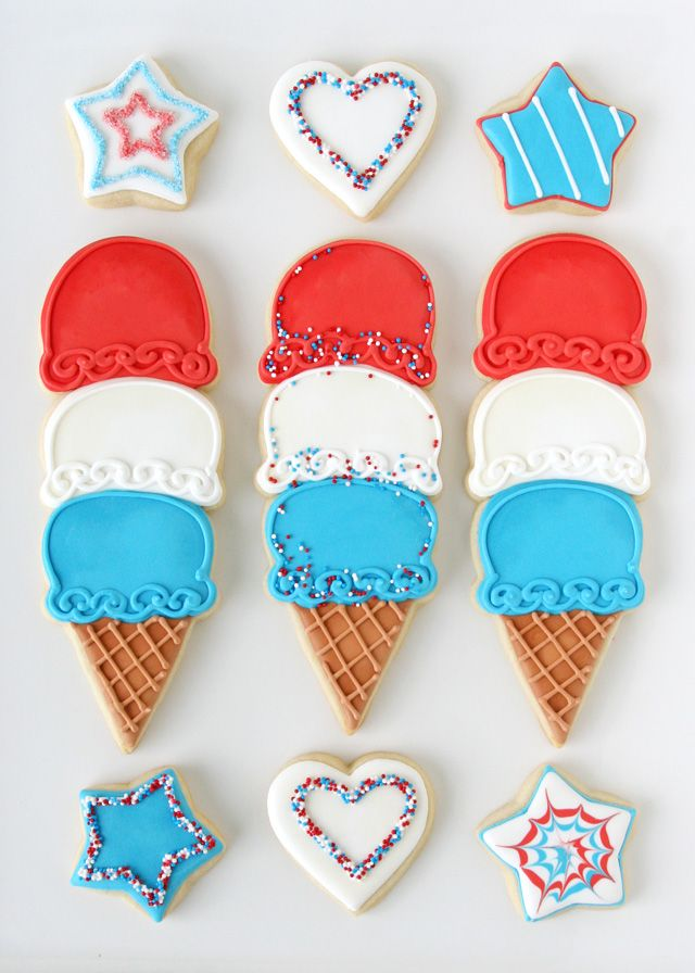 4th of july ice cream recipes
