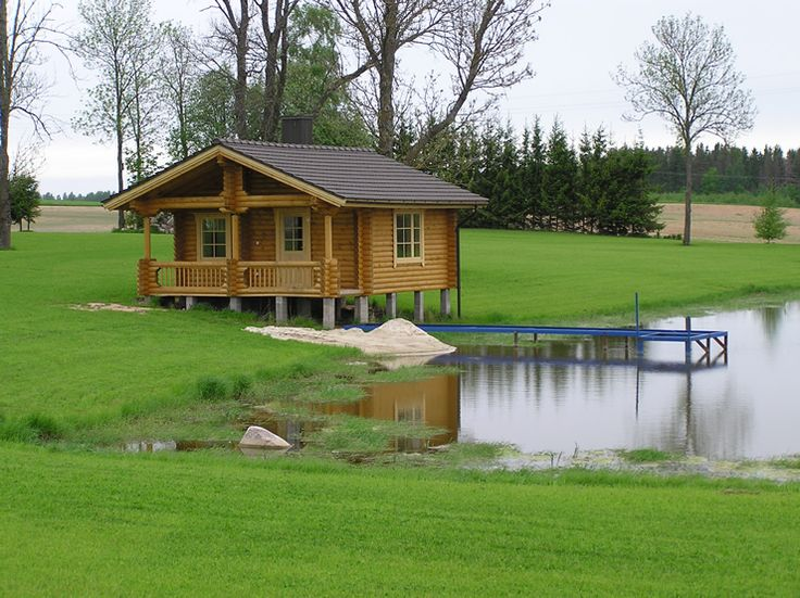 Fishing Cabin On A Pond Very Inviting Cabins Camps