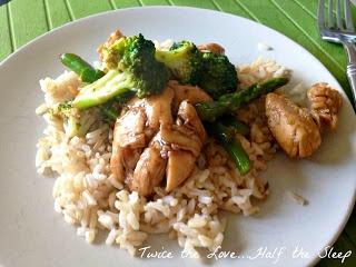 Chicken, Broccoli and Asparagus Stir Fry | Yummy Food! | Pinterest