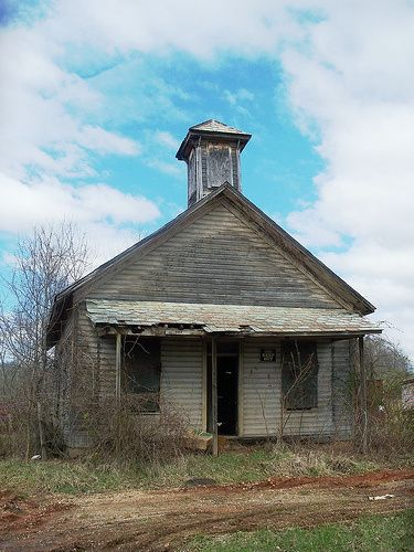 Old school house in ohio school houses pinterest - The house in the abandoned school ...