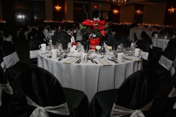 tablescape red black white wedding ideas pinterest
