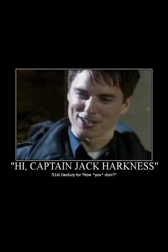 Captain Jack Harkness Everyone It S More Like A Big Ball