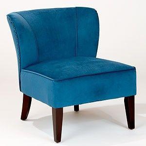 peacock blue chair  Dream Home  Pinterest