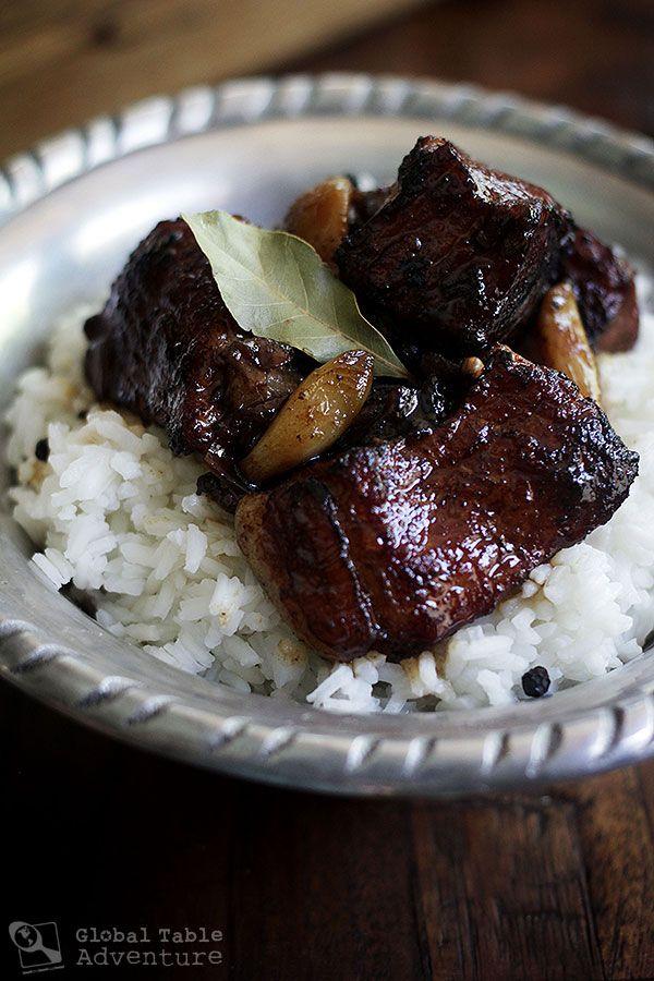 Filipino Braised Pork Adobo | Recipe
