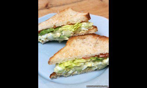 Recipe: Martha's favorite egg salad sandwich