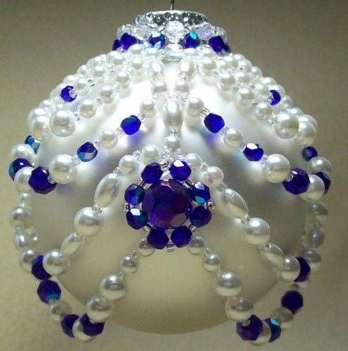 Princess Ornament Cover: Beading Tutorial $5.00