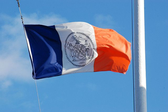 the flag of new york city