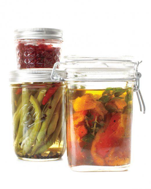 Spicy Pickled Green Beans recipe, Martha Stewart
