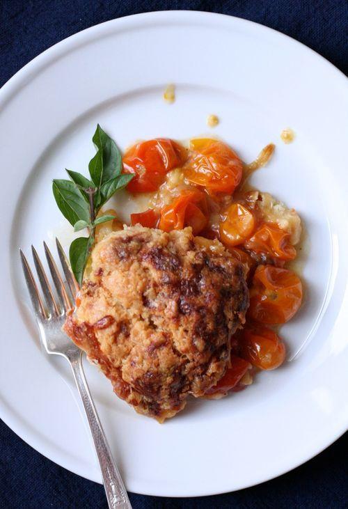 tomato cobbler | food | Pinterest